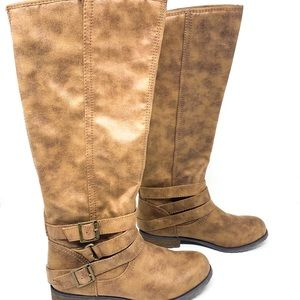 Madden Girl by Steve Madden Campus Brown Boots